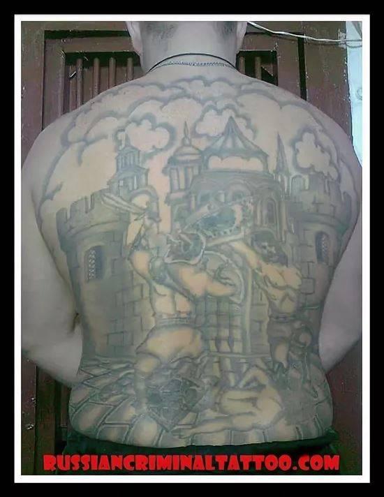 фото татуировок купола на спине смотреть ней