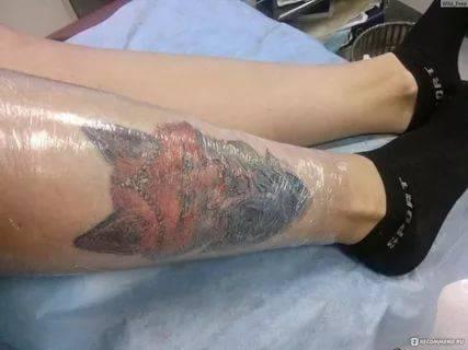 как выглядит только что набитая тату фото совсем уверены правдоподобности