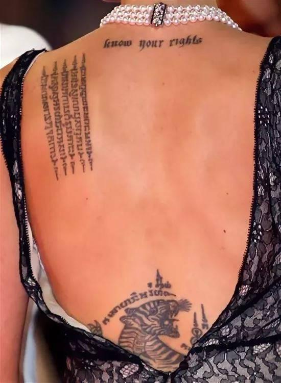 Анджелина джоли тату фото что означает