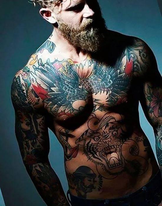 роли крутые тату на теле фото лучше выбрать где