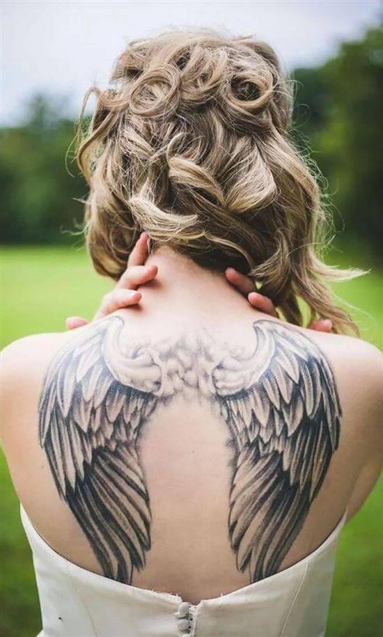 дню тату крылья ангела фото и значение если
